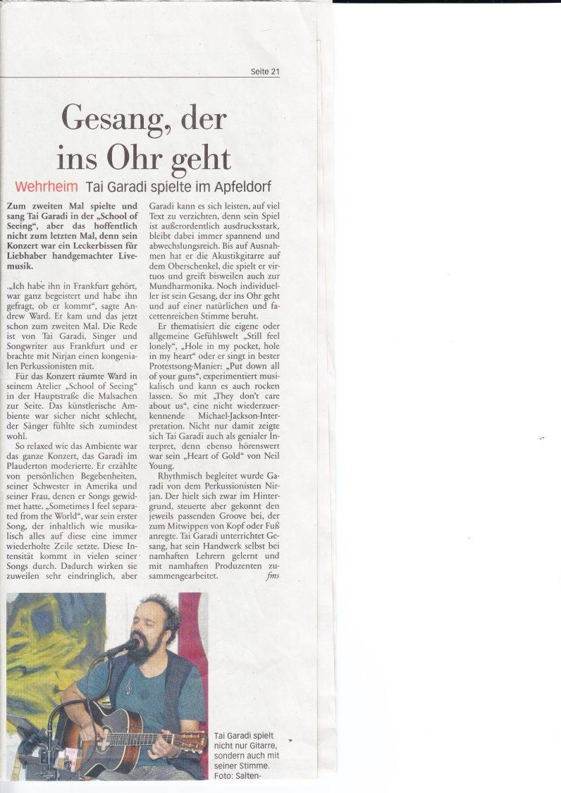 """Auftritt am 22.Dezember 2017 im Künstleratelier von Andrew Ward """"School of Seeing"""" in Wehrheim mit dem frankfurter Percussionisten Nirjan Fröhlich (unten rechts Bild vergrößern)"""
